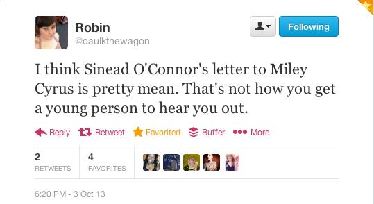 Robin tweet 1